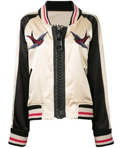Maison Mihara Yasuhiro   Embroidered Bomber Jacket