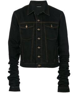 Y / PROJECT   Extra Long Sleeves Denim Jacket Men