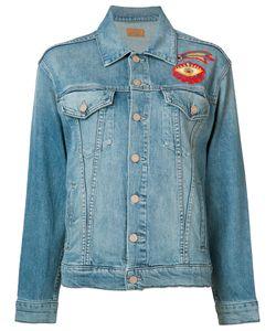 Mother | Джинсовая Куртка С Вышивкой