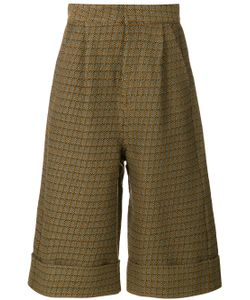 MM6 by Maison Margiela | Wide-Legged Cropped Trousers