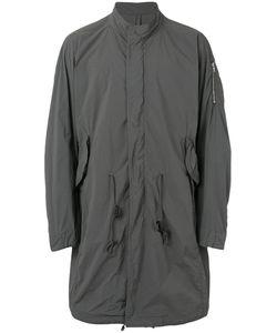 ATTACHMENT | Mandarin Neck Loose-Fit Coat