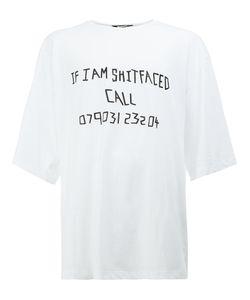MOOHONG | Slogan T-Shirt 52 Cotton