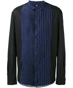 ZIGGY CHEN | Pleated Bib Shirt Size 46