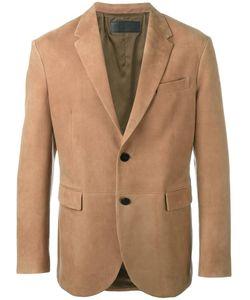 Neil Barrett | Leather Blazer Large Lamb Skin/Cupro