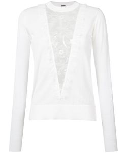 Adam Lippes | Lace Panel Jumper Size Small