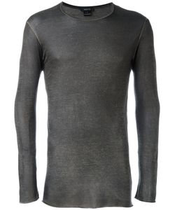 Avant Toi | Longsleeved T-Shirt Small Viscose/Polyamide/Cotton