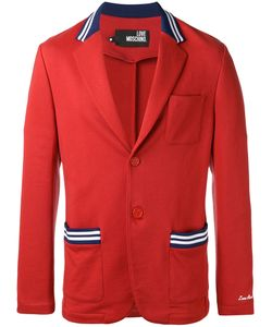 Love Moschino | Two Button Blazer Small Cotton/Polyester/Spandex/Elastane/Cotton