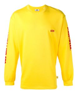 Gcds | Logo Embroidered Sweatshirt Size Large