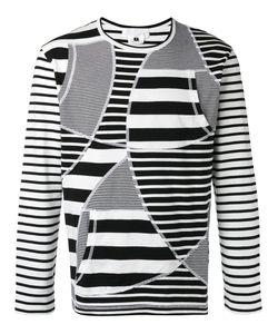 GANRYU COMME DES GARCONS | Striped Sweatshirt Medium Cotton