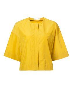 Jil Sander | Укороченная Куртка Без Воротника
