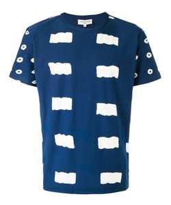 YMC | Patterned T-Shirt Small Cotton