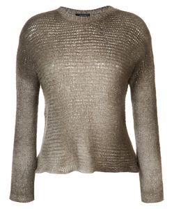 Avant Toi   Gradient Round Neck Sweater Size Small