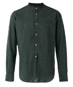 Massimo Alba   Band Collar Shirt Size Medium