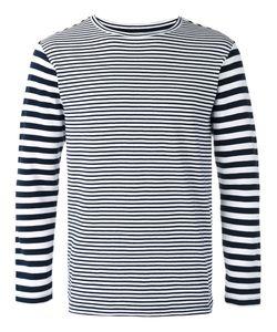 Blue Blue Japan | Long Sleeve Stripe T-Shirt