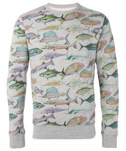 Bellerose | Fish Print Sweatshirt L