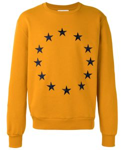 ÉTUDES   Star Print Sweatshirt Size Xl