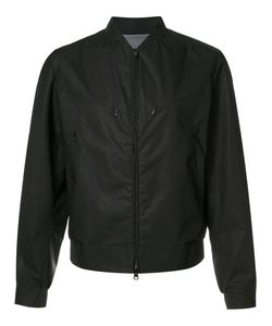 Y-3 | Zip Up Bomber Jacket Large Cotton/Polycarbonite