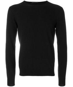 Daniele Alessandrini   Stripe Detail Crew Neck Sweater Men
