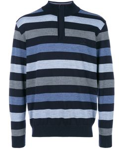Paul & Shark | Striped Zip Collar Sweater Men