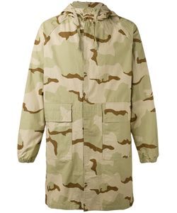 Stussy | Camouflage Print Coat Xl