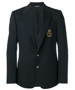 Dolce & Gabbana | Logo Crown Blazer 48 Virgin