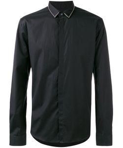 Les Hommes | Studded Collar Shirt