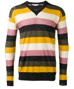 Marc Jacobs | Striped V-Neck Sweater