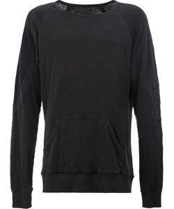 GREG LAUREN | Distressed Sweatshirt 3 Cotton