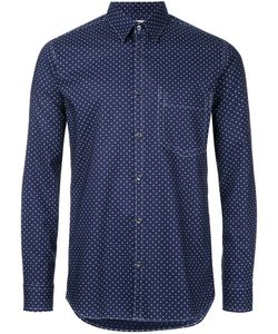 Factotum | Dots Print Shirt 44 Cotton