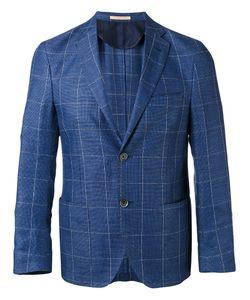 Corneliani | Checked Blazer Size 56