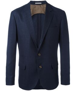 Brunello Cucinelli | Flap Pockets Blazer 56 Linen/Flax/Wool/Silk/Cupro