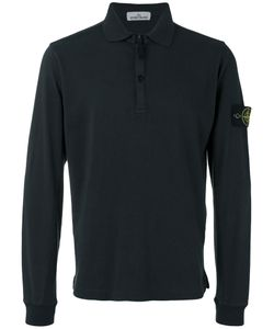 Stone Island | Logo Patch Polo Top Size Small