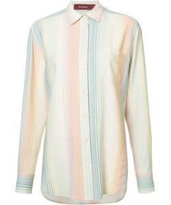 SIES MARJAN   Striped Shirt 4 Viscose/Wool