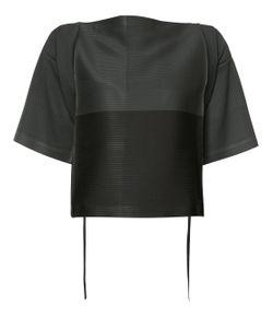 Issey Miyake | Tie-Waist Wide-Sleeve Top
