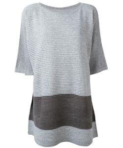 Issey Miyake Cauliflower   Ribbed Loose-Fit T-Shirt