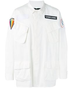 SANKUANZ | Patch Lab-Look Jacket Size Small