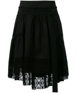 Alberta Ferretti | Lace Trim Asymmetric Skirt Size 42