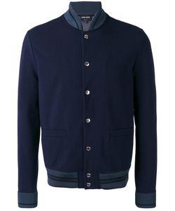 Giorgio Armani | Teal Tipped Varsity Jacket Size 48