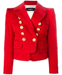 Dsquared2 | Laye Double Breasted Blazer 46 Cotton/Spandex/Elastane/Viscose/Polyester