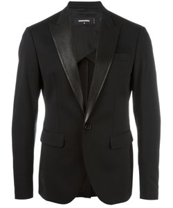 Dsquared2 | Tokyo Suit Jacket 52 Spandex/Elastane/Virgin Wool/Calf Leather/Cotton