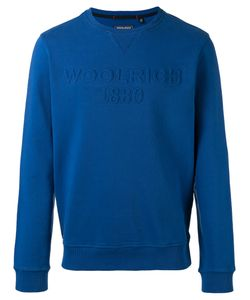 Woolrich | Logo Embroidered Sweatshirt Size Medium