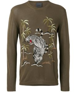 Laneus | Jungle-Print T-Shirt Size 54