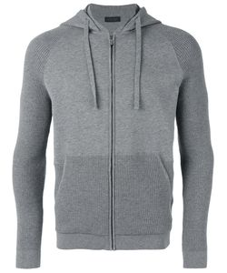 Z Zegna | Panelled Zipped Hoodie