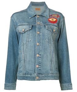 Mother | Embroidered Denim Jacket Xs
