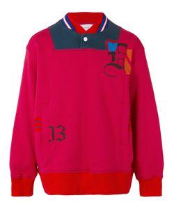 FACETASM   Collar Detail Sweatshirt Iv
