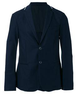 Emporio Armani | Ribbed Knit-Trimmed Twill Blazer Size Xxl