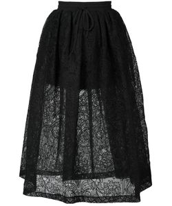 Vera Wang | Full Lace Skirt 2 Silk/Nylon