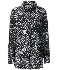 No21   Рубашка С Цветочным Принтом