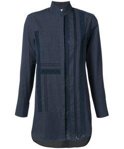 Akris Punto | Джинсовая Рубашка С Высоким Воротником