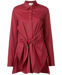 3.1 Phillip Lim | Front Tied Stripe Shirt 4